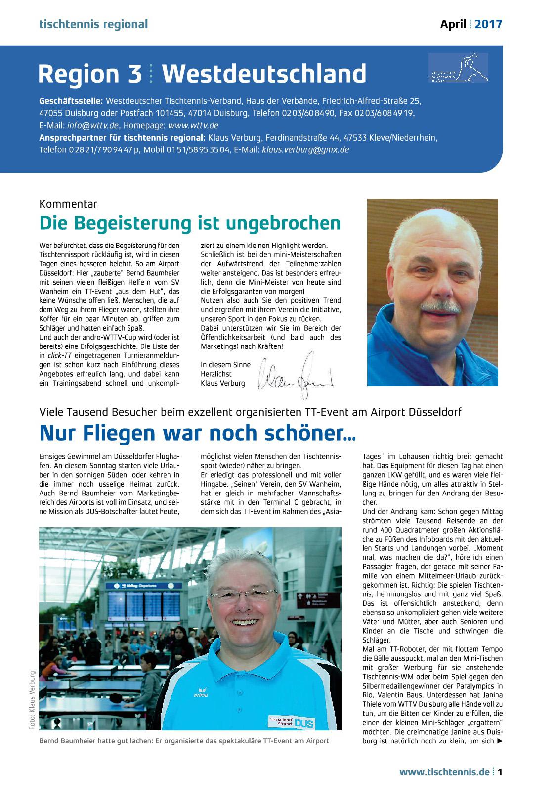 Bericht Regionalseiten TT-Event Airport Seite 1
