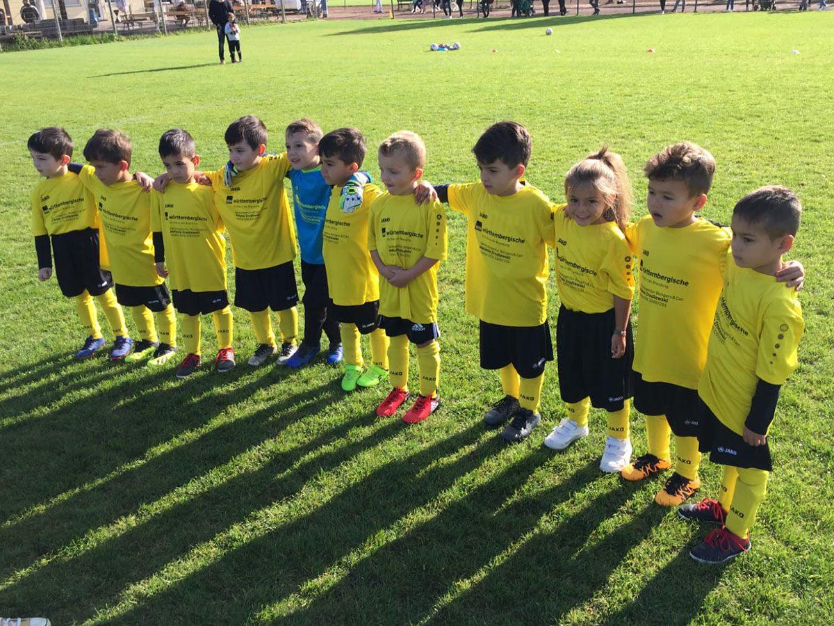 JFB Bambini 2 Mannschaftsfoto 2020