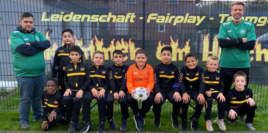 JFB E2-Jugend Mannschaftsfoto 2020
