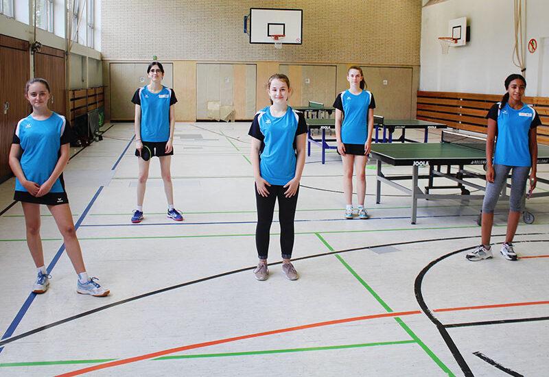 Mädchenmannschaft 1