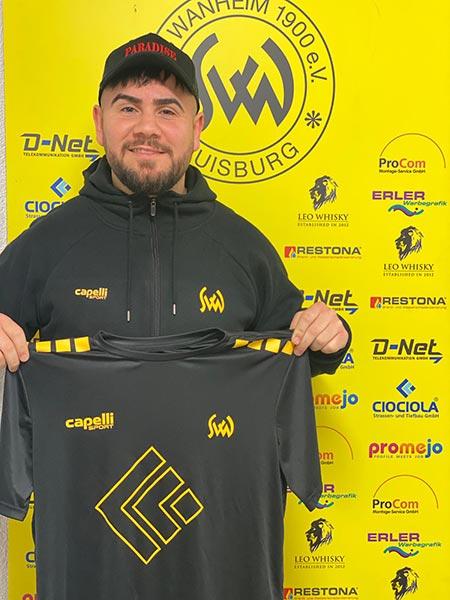 Neuer Trainer Cüneyt Serifoski